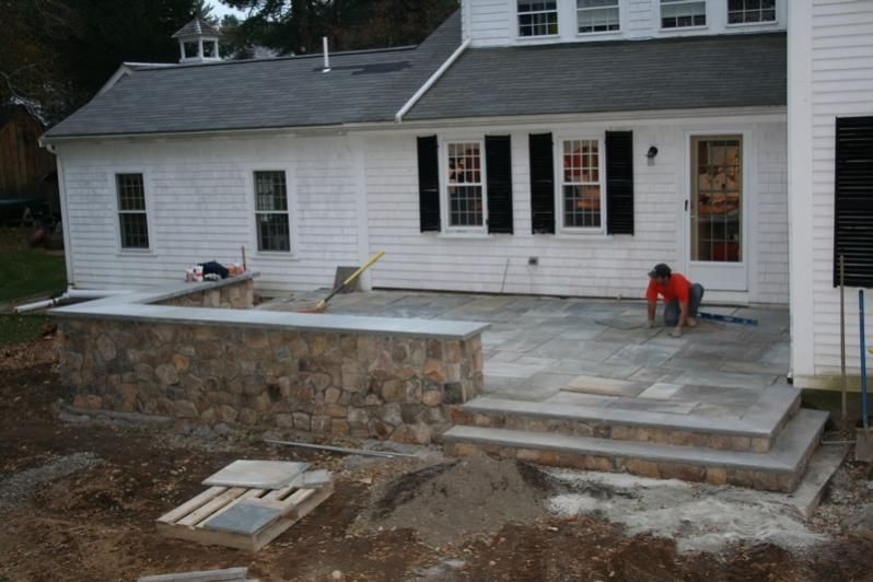 Elevated Patios | Raised Patio   Masonry Picture Post   Contractor Talk