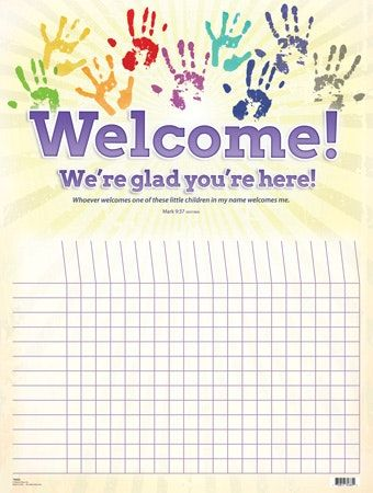 Printable attendance charts for sunday school experimental concept