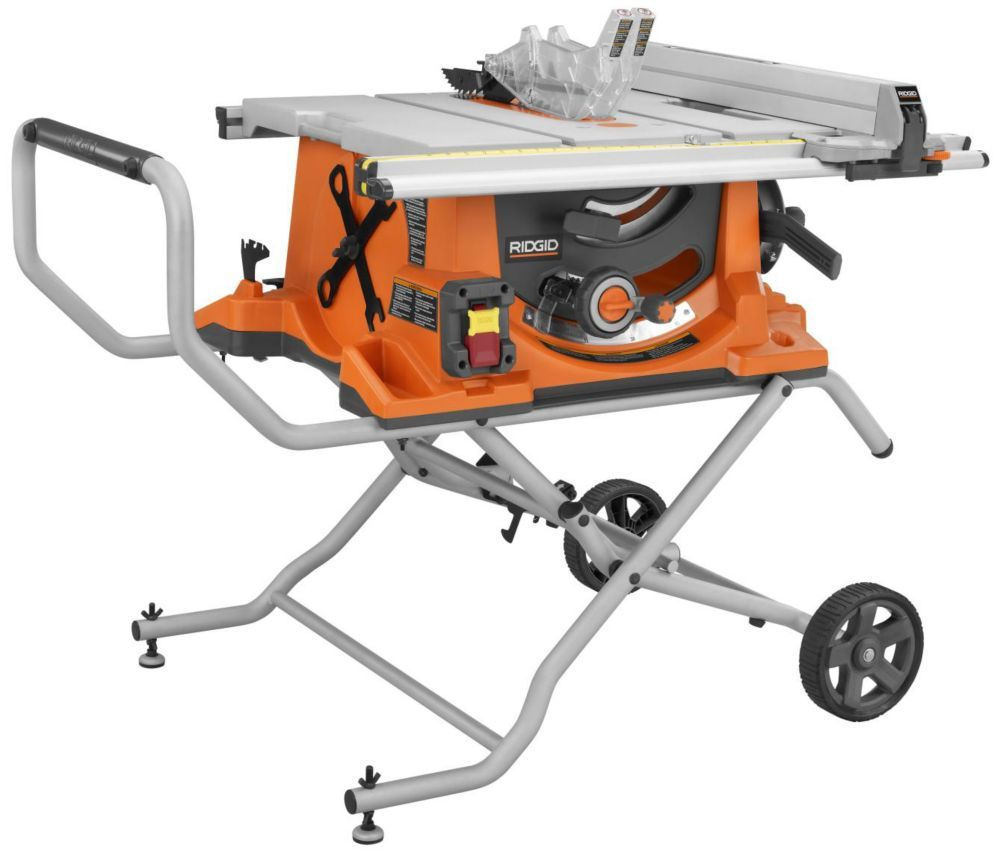 10 In Portable Table Saw With Stand Con Imagenes Caja De