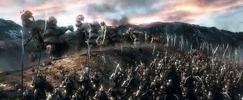 Afbeeldingsresultaat voor hobbit fighting