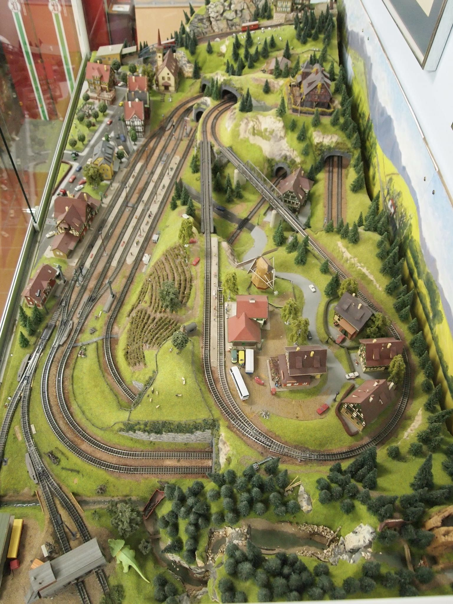 Reseau Vue D Ensemble Model Trains Model Railway Track Plans