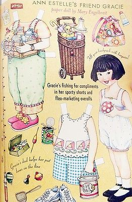 MARY-ENGELBREITS-Home-Companion-2003-LOT-of-6-PAPER-DOLLS-vintage-SHABBY-CHIC