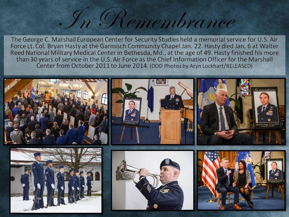 Jasontudor marshall center held a memorial service for