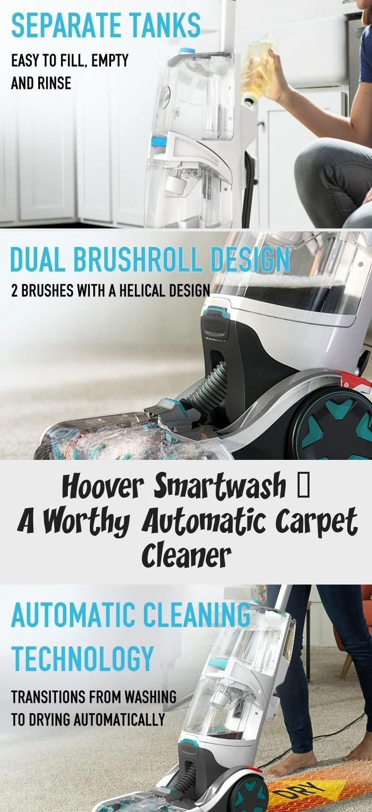 Hoover SmartWash a worthy automatic carpet cleaner
