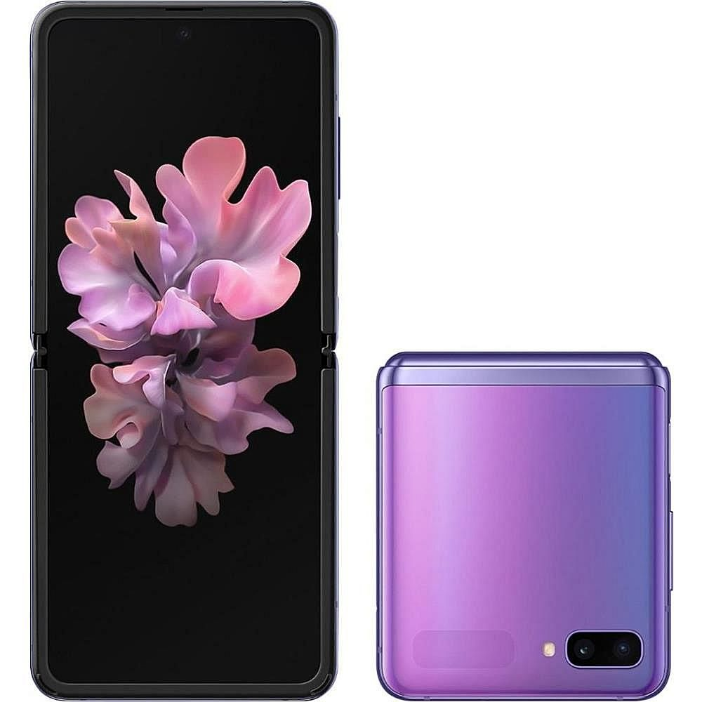 Samsung Galaxy Z Flip F700f 256gb Gsm Unlocked Smartphone Purple Samsung Galaxy Z Samsung Galaxy Z Flip Galaxy Z Flip Galaxy z flip wallpaper