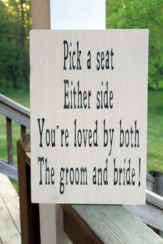 Come As You Are No Seating Plan Wood Wedding Sign Rustic