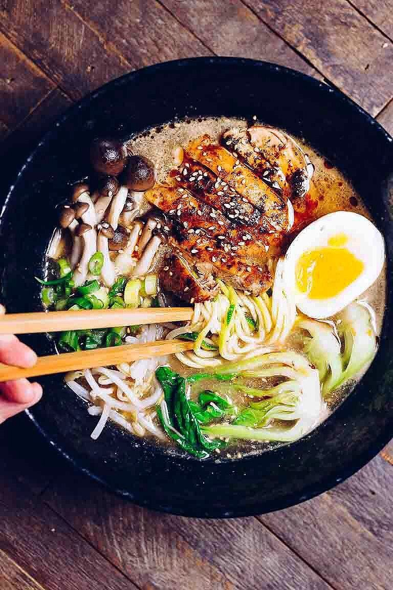 Whole30 Tantanmen Ramen Paleo Keto Easy Recipe Healthy