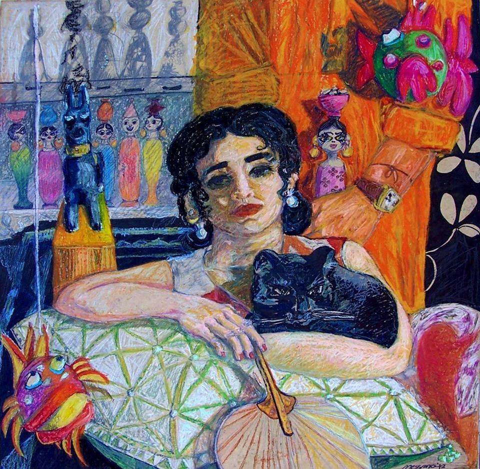 Nessma Elaassar Egypt Arab Women Artists