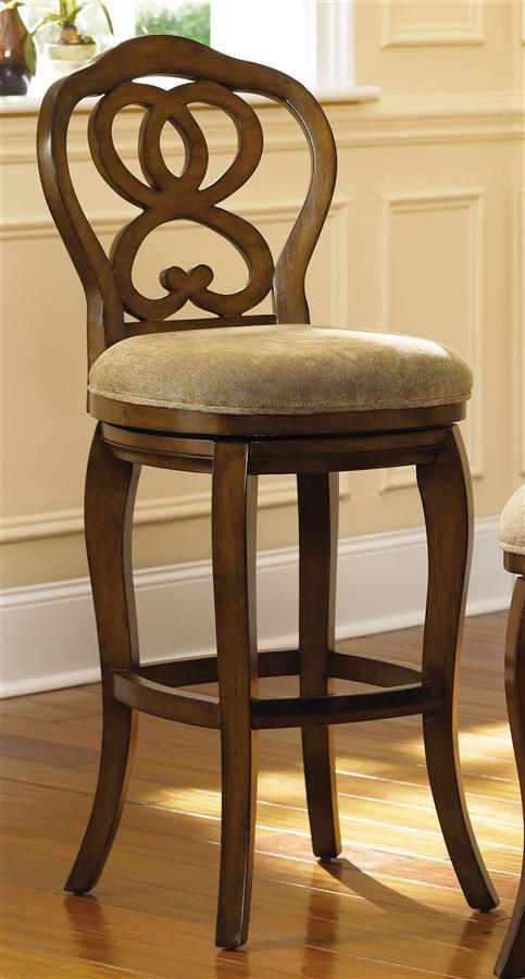 Hidden Treasures Upholstered Barstool