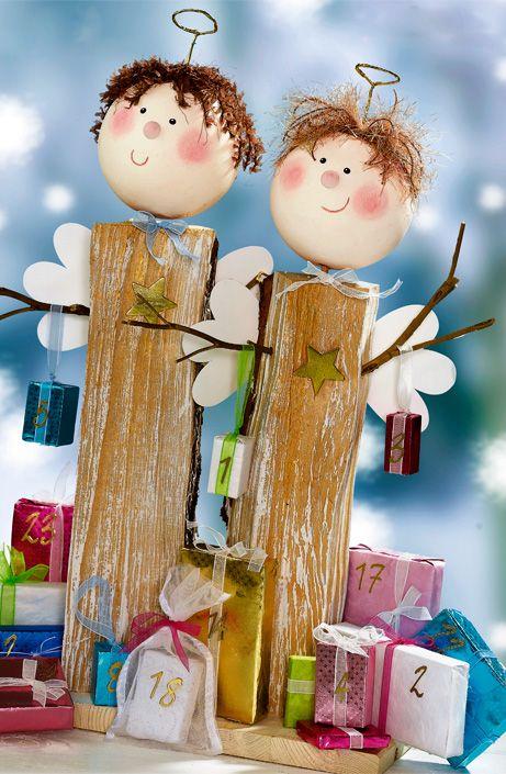 Pia pedevilla basteln pinterest pia pedevilla weihnachten und basteln weihnachten - Engel basteln holz ...
