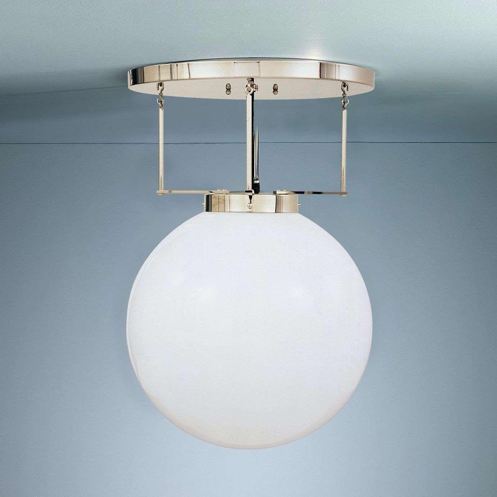 Plafonnier laiton style Bauhaus in 2020   Deckenlampen design, Beleuchtung decke, Deckenleuchten