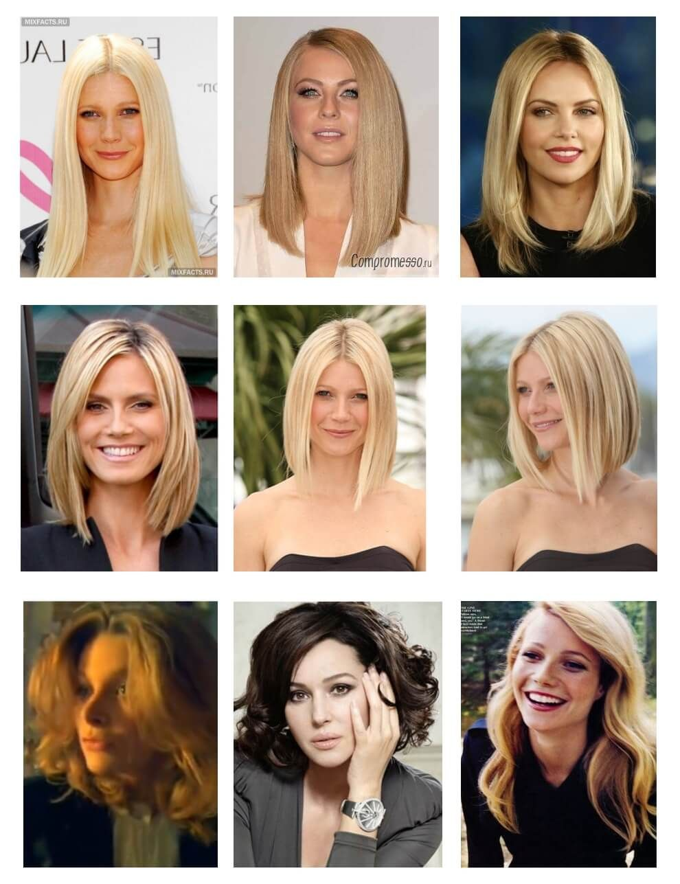 Possible hairstyles for oval face type - blondies #blonde #haircut ...