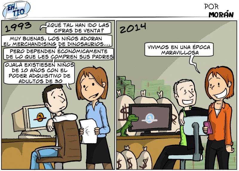 Jurassic marketing. #humor #risa #graciosas #chistosas #divertidas