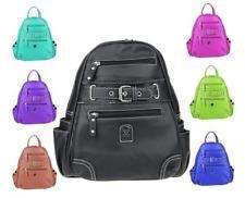 Photo of UNISEX Stadt-RUCKSACK Cityrucksack Tasche Backpack Reise Street Bag Leder Optik: …