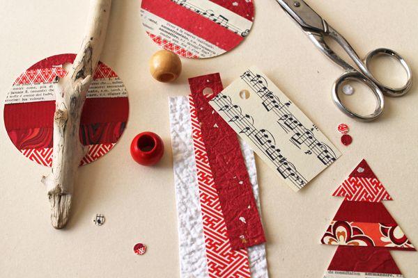 jeux de cartes: jeux de cartes # 30 recyclage créatif: des étiquettes de cadeau de papier