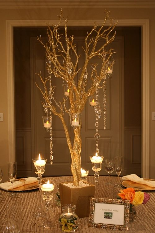 Tree decorations for weddings manzanita wedding
