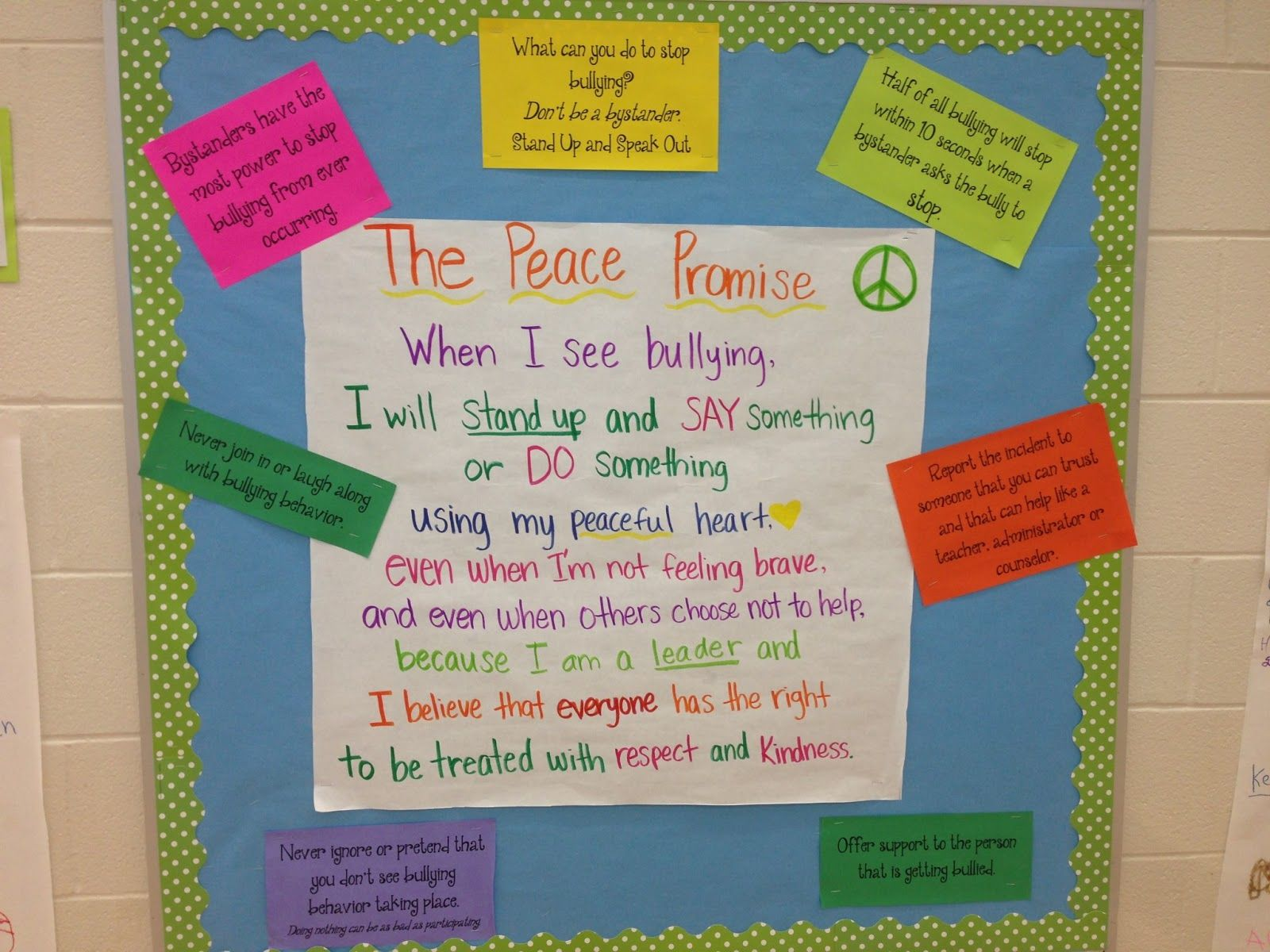 stop bullying bulletin board Google Search School