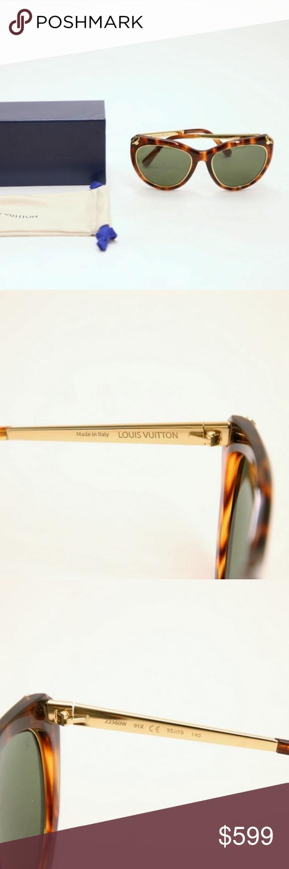 72483523b16 Louis Vuitton Emmanuelle Sunglasses Z2360W 91X ITEM  Louis Vuitton  Emmanuelle Sunglasses Z2360W 91X Tortoise Shell
