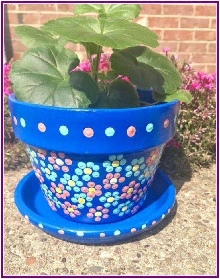25 simple easy flower pot painting ideas auxpaysdes