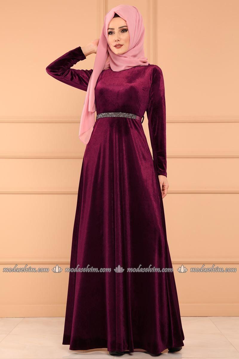 Tas Kemerli Kadife Elbise 574 L263 Sarabi Fashion Dresses Fashion Dresses