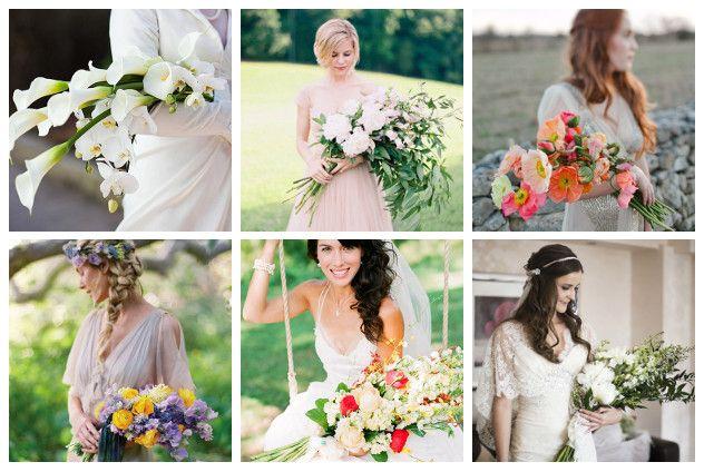 Foto da sinistra in alto in senso orario: Root Photography, Landon Jacob, The Nichols, Pearl Pîctures, Jen Fariello, lovelybride.com