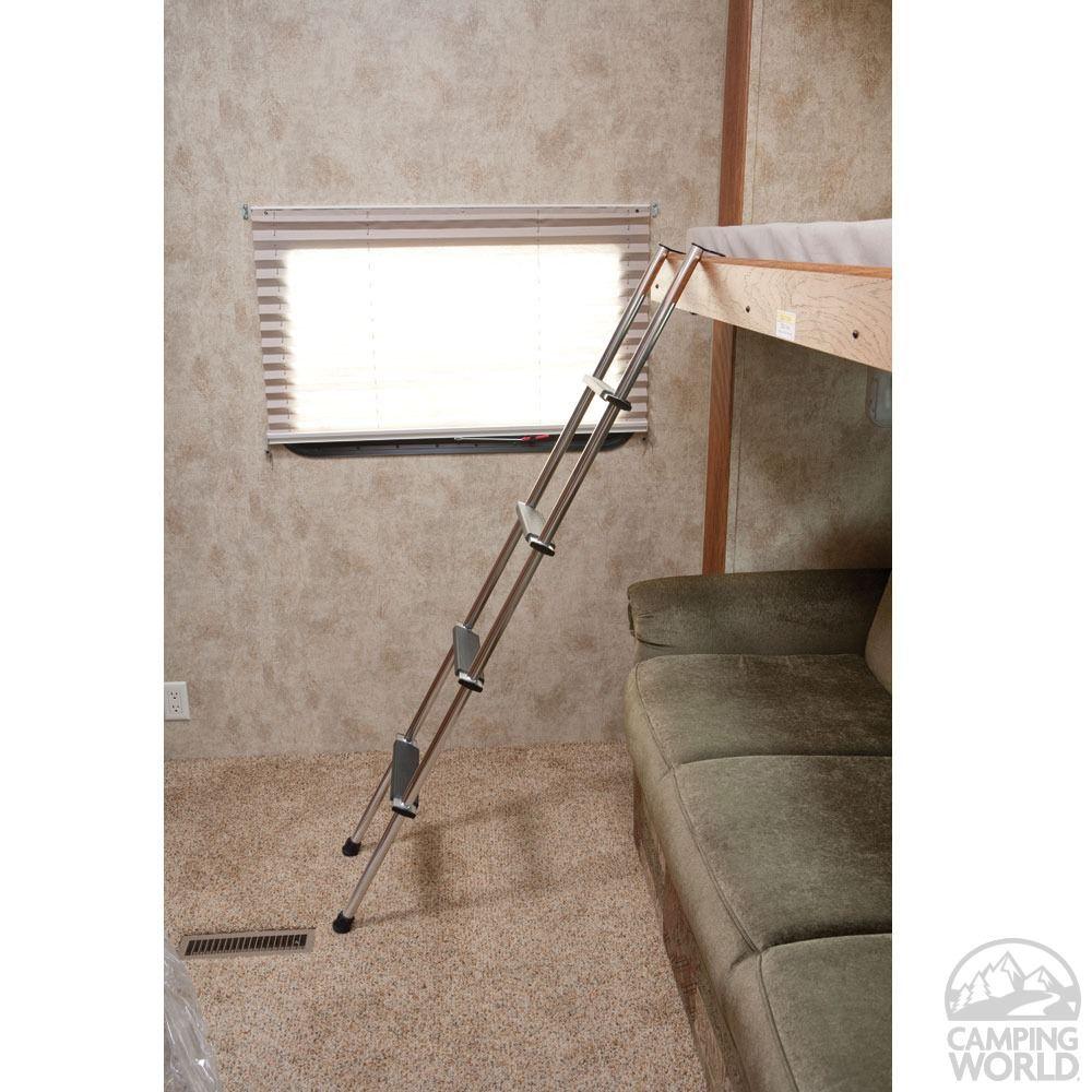 Rv bunk ladder rv