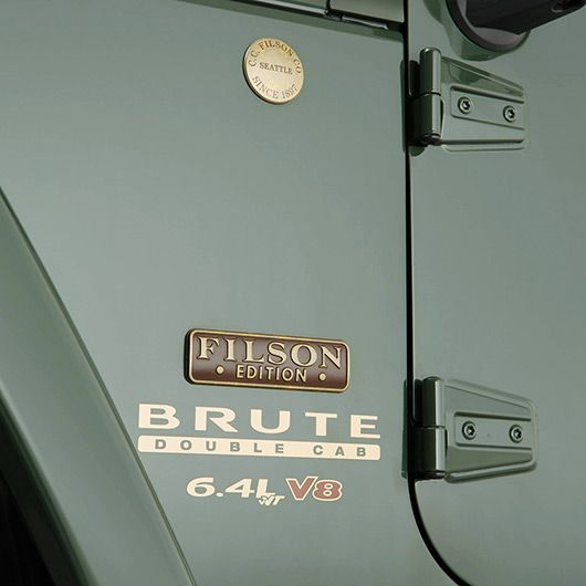 Jeep Filson Edition Aev Brute Double Cab With 6 4l Vvt V8 Engine