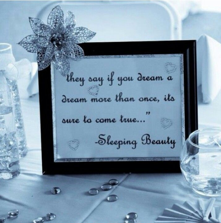 Framed Disney Love Quotes For Wedding Centre Pieces