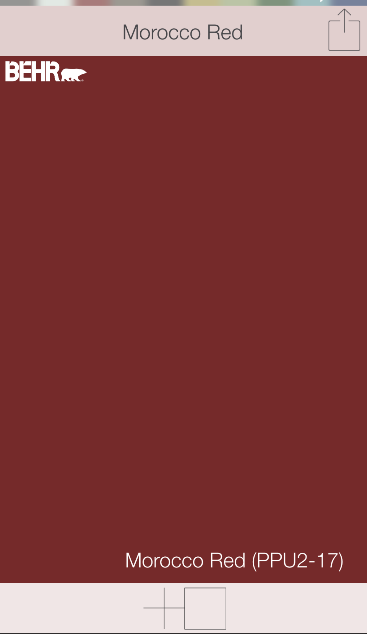Red front door colors Morocco Red PPU2 17 Behr paints