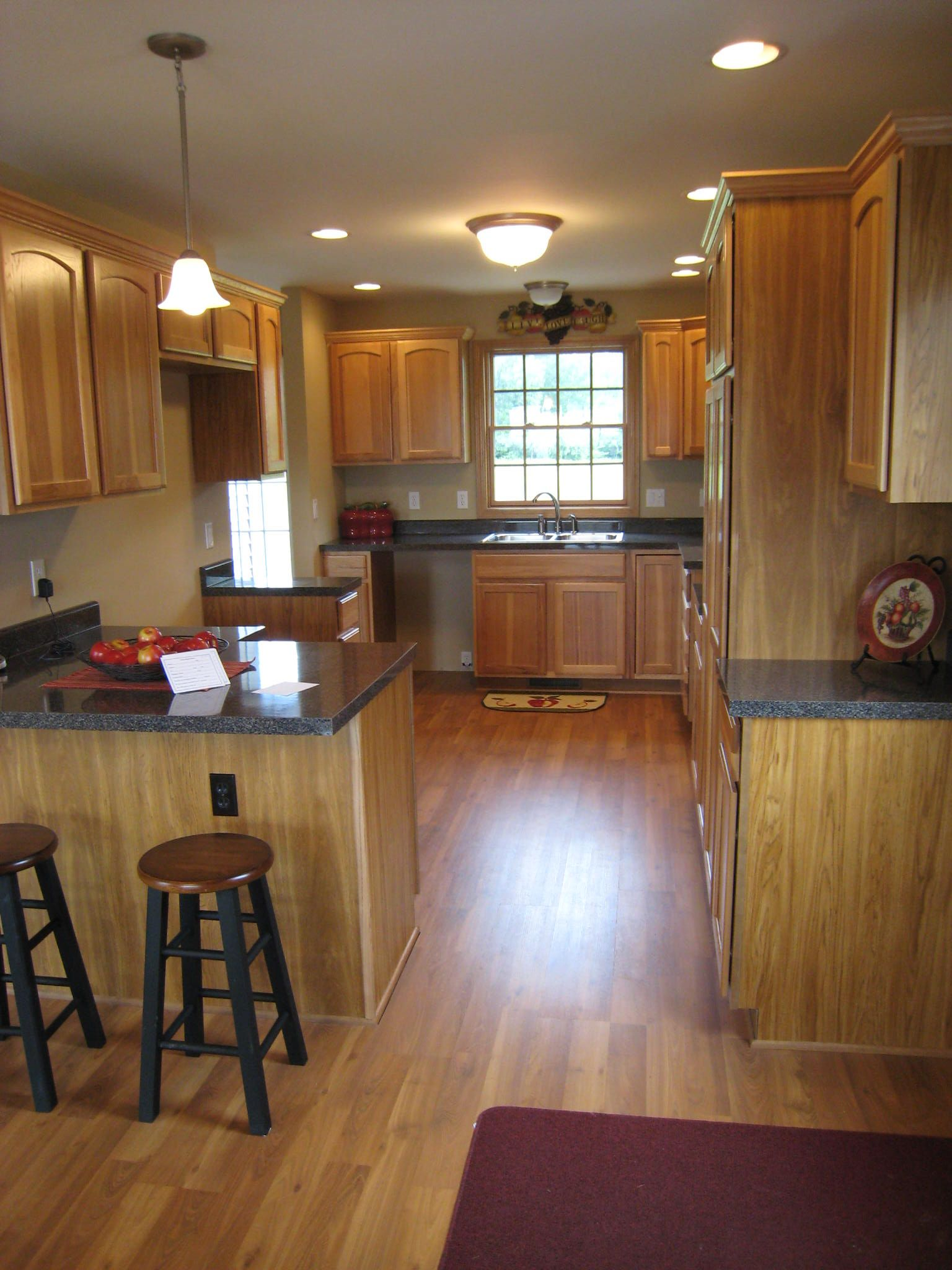 Delicieux Modular Home Kitchen With Merillat Cabinets. This Home Is Located In  Northern Michigan.