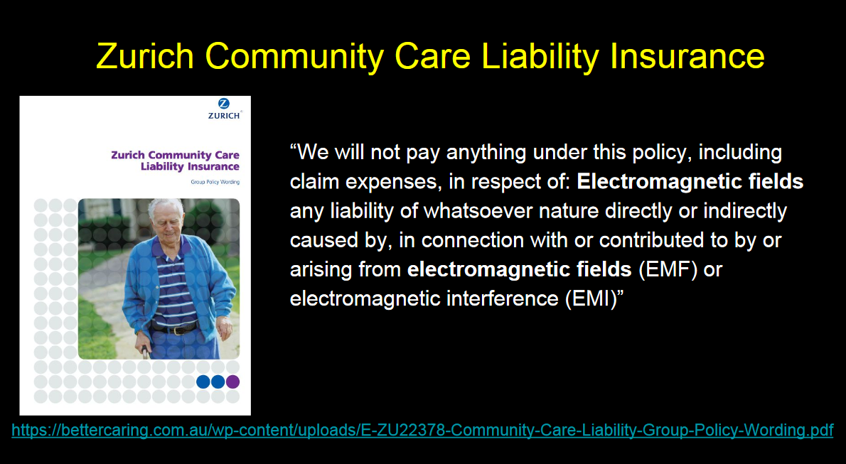 Zurich Community Care Liability Insurance Rejects Emf Claims