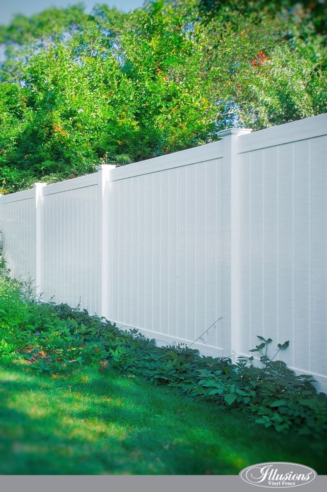 Who Makes The Best White Vinyl Fence Illusions Fence White Vinyl Fence Vinyl Fence Vinyl Fence Panels