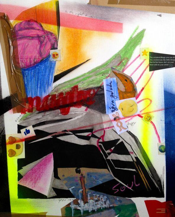 ARTFINDER: Maybe by Eduardo Bessa - Maybe  3/3 Triptych  Size: 41 H x 33 W x 0.1 cm