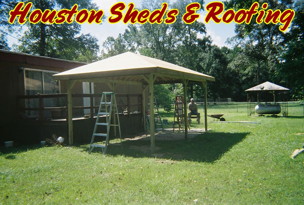 Do It Yourself Home Design: Decks Sheds » Carport Beside