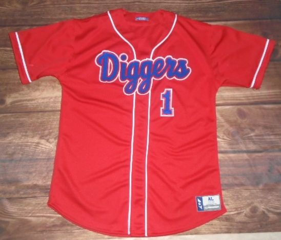 9f4a70be8de1 Take a look at this custom jersey designed by Sugar Salem Diggers Baseball  and created at