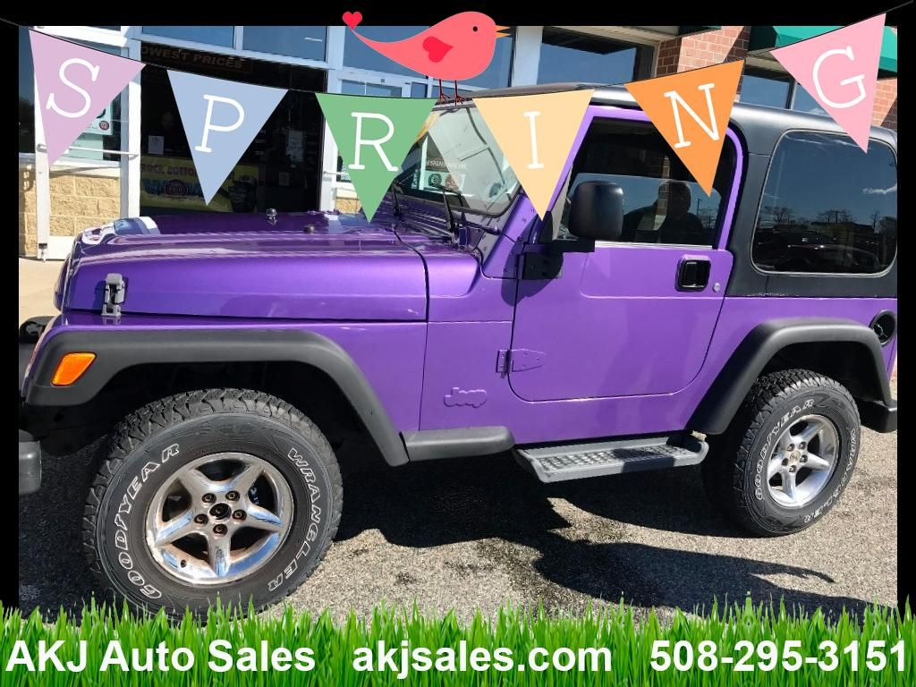 Used 2004 Jeep Wrangler Sahara For Sale In West Wareham Ma