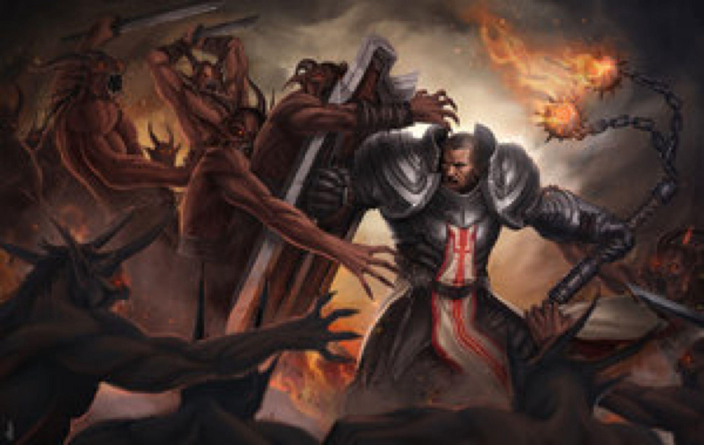 Crusader Battle Crusader Wallpaper Crusades Battle
