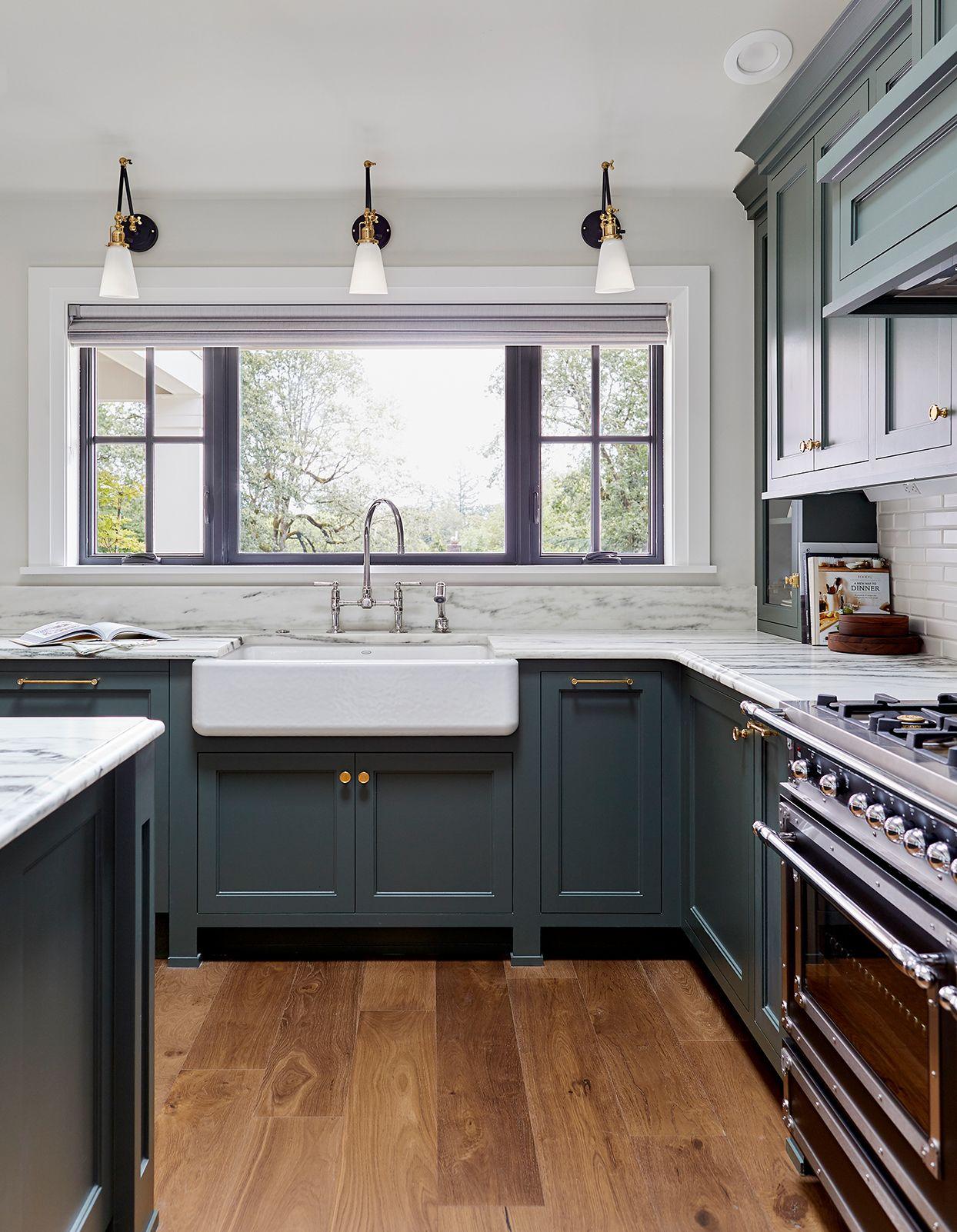 11 Gorgeous Marble Backsplashes That Ll Refresh Any Kitchen New Kitchen Cabinets Shaker Kitchen Cabinets Kitchen Design
