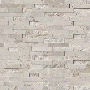Touchable Texture Stacked Natural Stone Mosaic And Panel Brick Backsplash White Brick Backsplash Stone Backsplash
