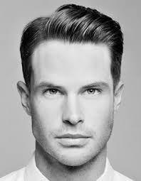Męska Fryzura Z Przedziałkiem Fryzury Męskie Pinterest Hair