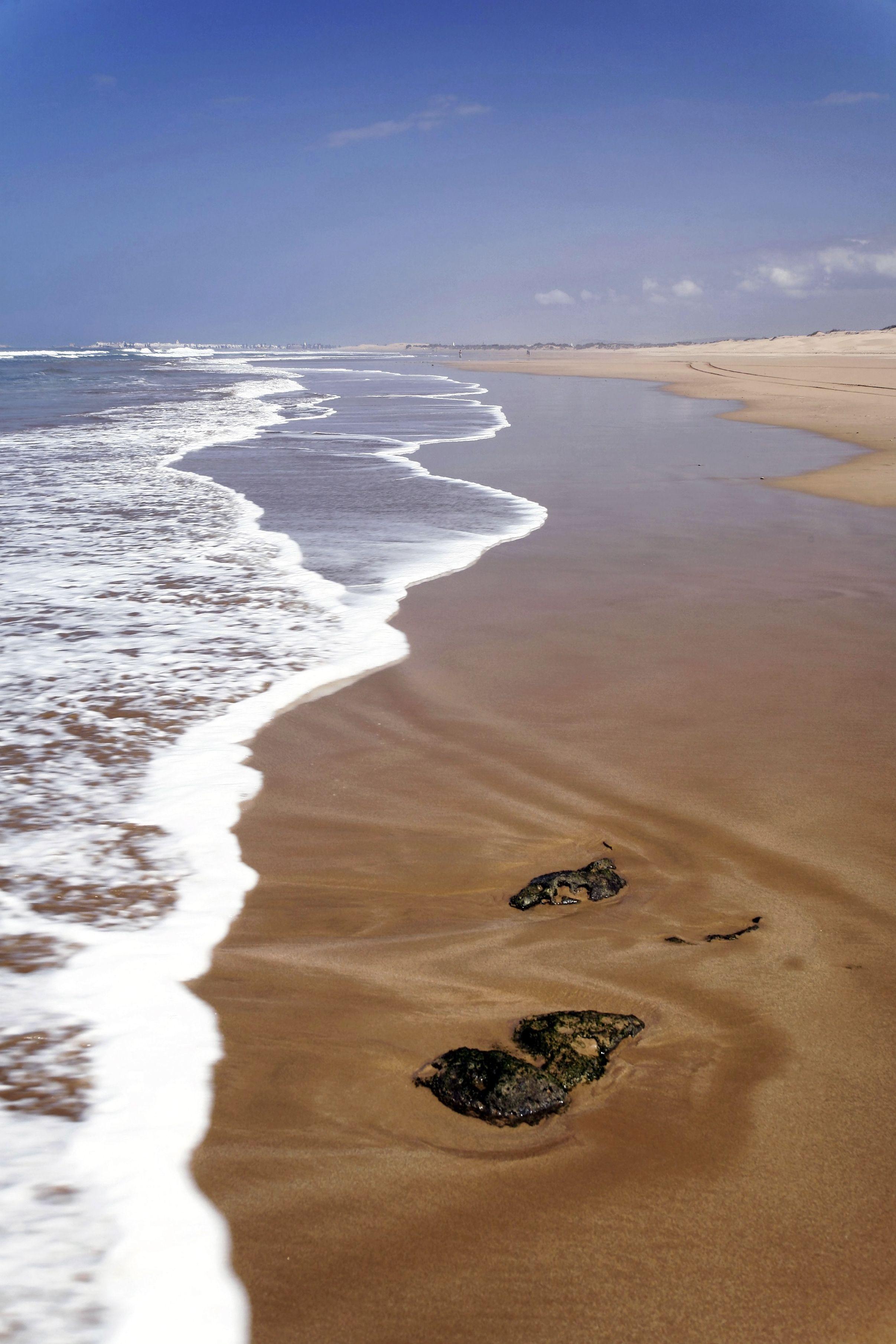 The Beach In Essaouira Morocco