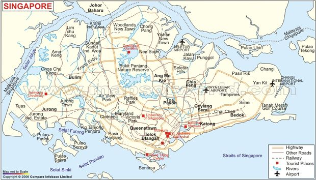 Singapore Map Google Search Maps Pinterest Singapore Map - Singapore map 1990