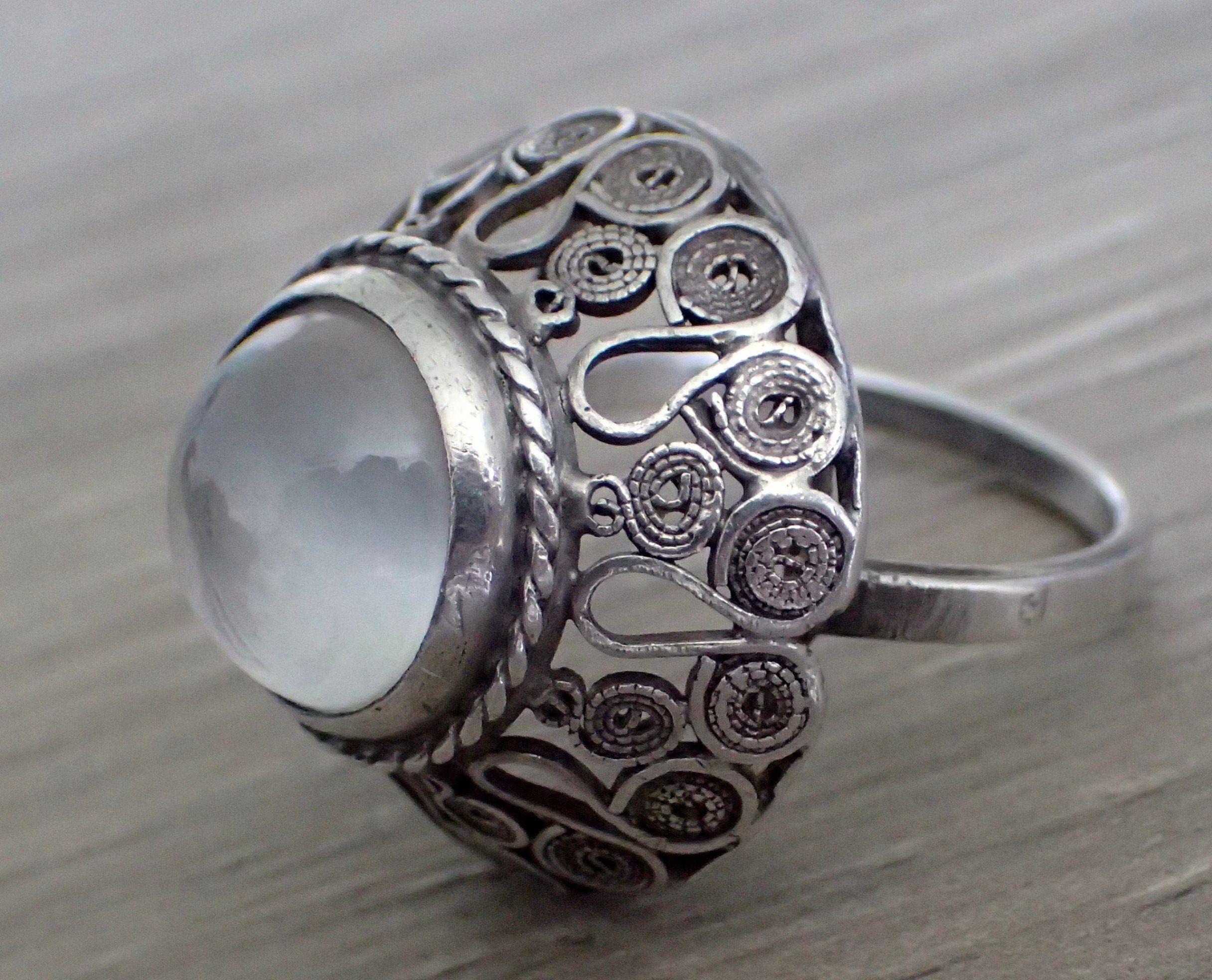 Legendarny Imago Artis Filigrany Kopula Srebro 3 6408036290 Oficjalne Archiwum Allegro Stone Jewelry Ring Old Jewelry 925 Silver Rings