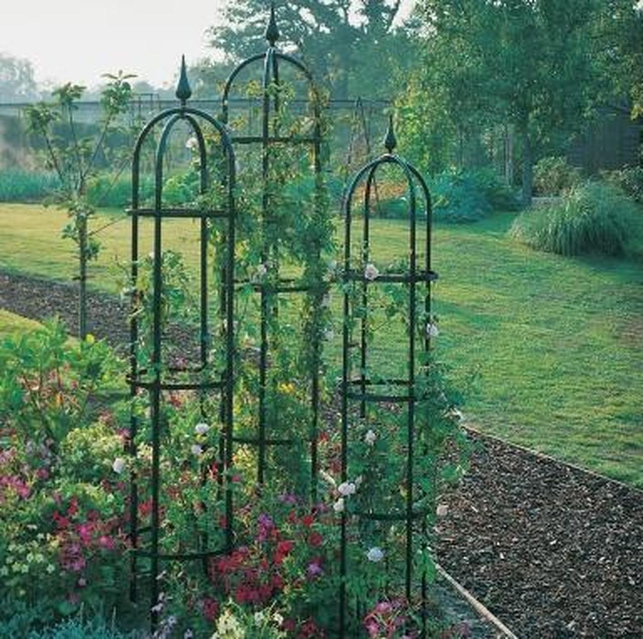 Classic Garden Obelisk Garden arches, Classic garden