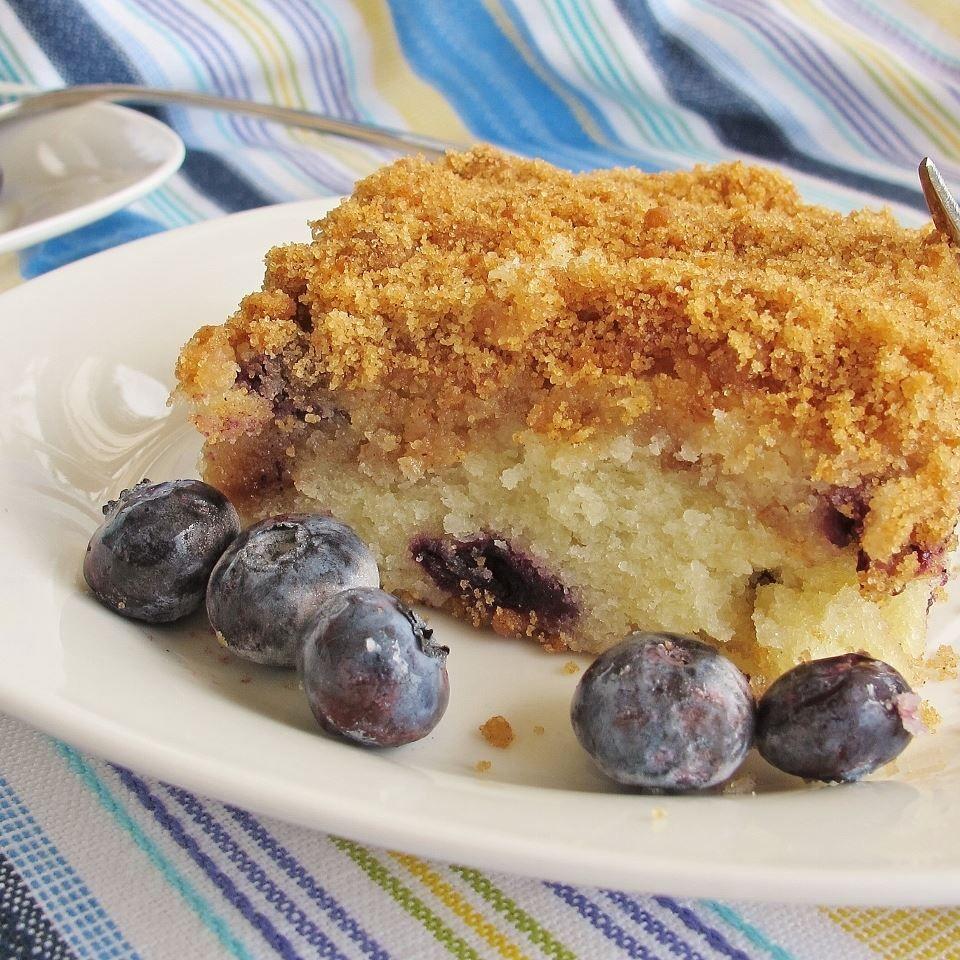 Sour Cream Blueberry Coffee Cake Recipe In 2020 Coffee Cake Blueberry Coffee Cake Blueberry Coffee Cake Recipe
