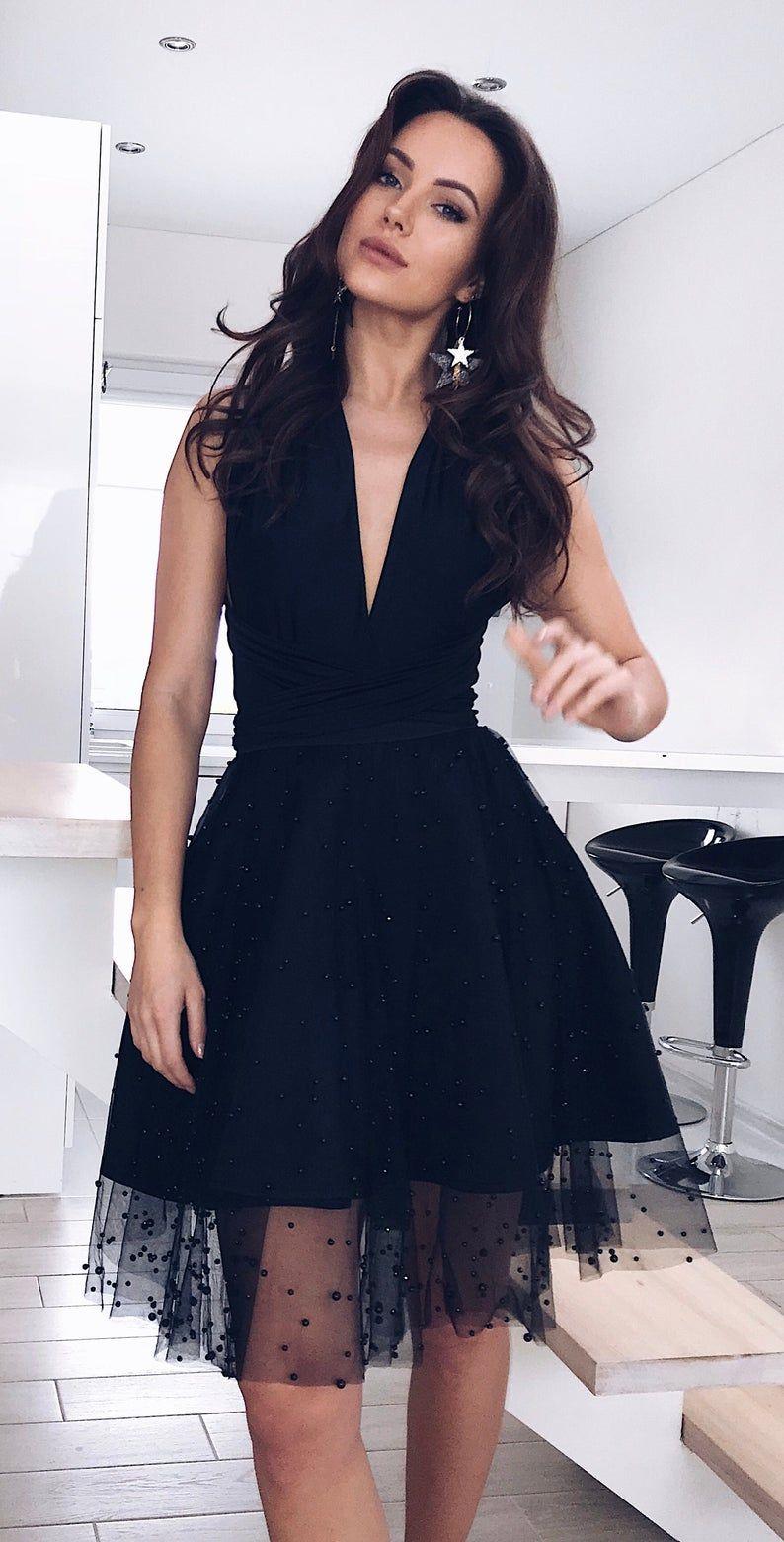 Black Tulle Multi Dress Black Tulle Skirt Wedding Guest Etsy Multi Way Dress Tulle Skirt Black Tulle Skirt Wedding Guest [ 1560 x 794 Pixel ]