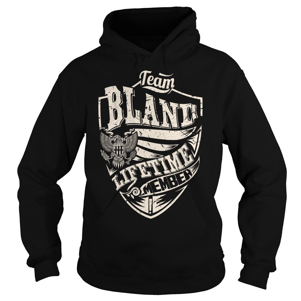 Last Name, Surname Tshirts - Team BLAND Lifetime Member Eagle