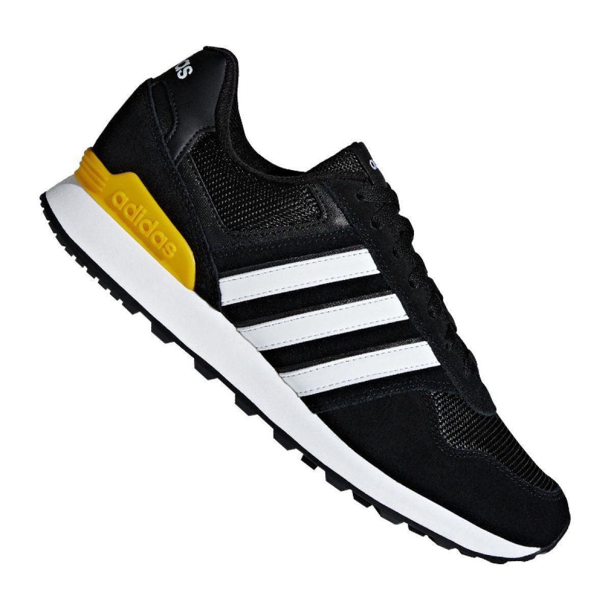 Sportowe Meskie Adidas Buty Adidas 10k M F34457 Czarne Suede Design Black Shoes Adidas