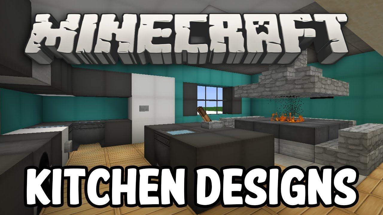 Minecraft Interior Design Kitchen Edition Minecraft