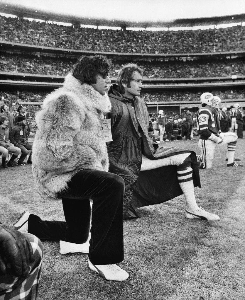 Pimp Coat | Joe Namath rockin a fur coat and shades on the ...